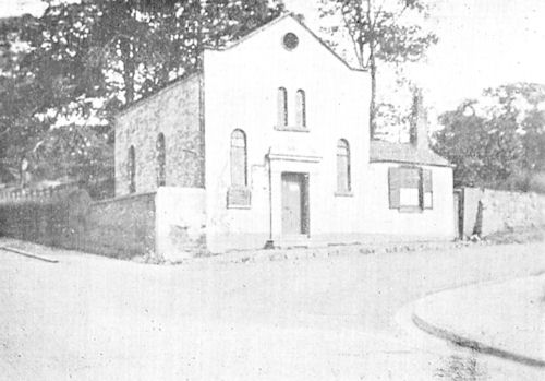 Church on Newton Road c.1920?