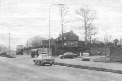 Newton Road January 1971 courtesy Express and Star