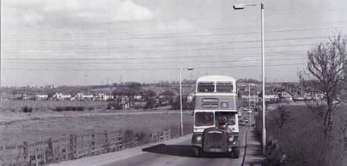 Newton Road in 1964