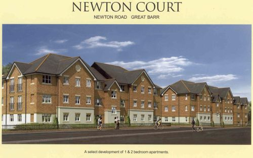 Newton Court brochure cover