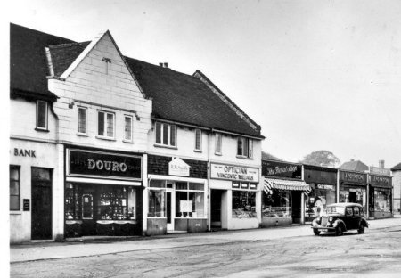 photo - Birmingham Road shops - 1950s