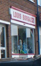 Louis Borgazzi shop Bowstoke Road